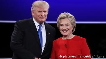 USA Wahlkampf TV Duell (picture-alliance/dpa/J. Lane)