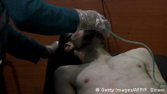 UNO verlängert Untersuchung zu Chemiewaffeneinsatz in Syrien (Getty Images/AFP/F. Dirani)