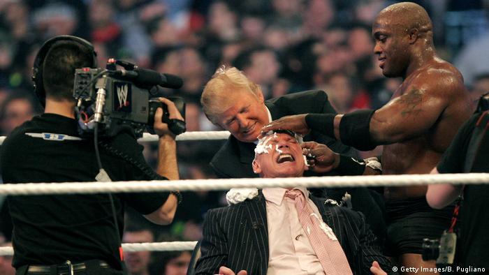 USA Donald Trump Wrestling 2007 (Getty Images/B. Pugliano)