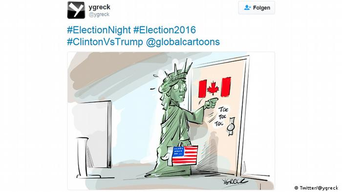 Cartoon after Donald Trump's election (Twitter/@ygreck )