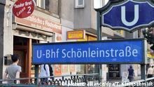Berlin U-Bahnhof Schönleinstraße (picture-alliance/dpa/T. Kleinschmidt)