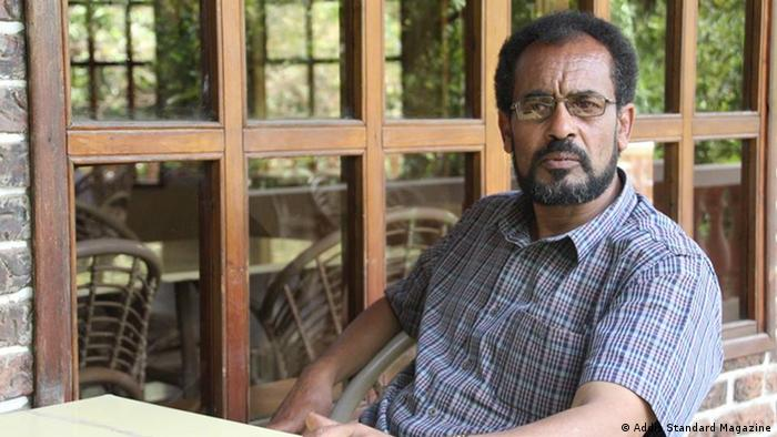 A photo of politician Bekele Gerba wearing a short-sleeved shirt. (Addis Standard Magazine)