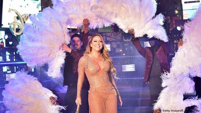 Mariah Carey Silvester 2016/2017 New York Times Square (Getty Images / E.Gologursky)