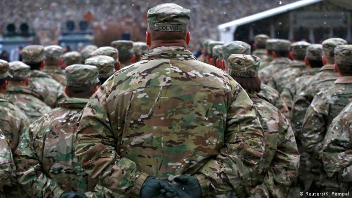 Polen US-Truppen treffen in Zagan ein (Reuters/K. Pempel)
