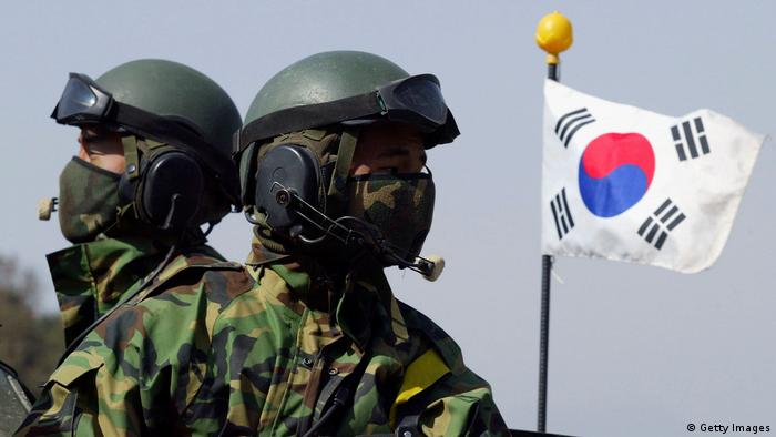 Südkorea Soldaten (Getty Images)