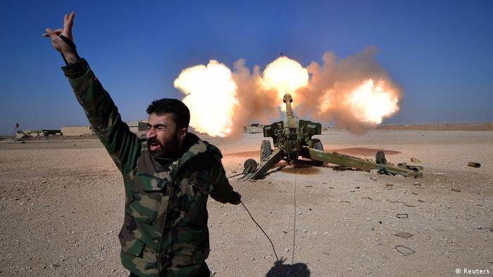 Irak Kampf um Mossul (Reuters)