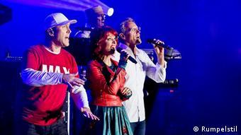 La banda berlinesa Rumpelstil está compuesta por la holandesa Blanche Elliz y los alemanes Jörn Brumme, Peter Schenderlein y Max Vonthien.