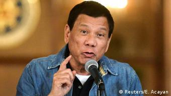 Philippinen Rodrigo Duterte (Reuters/E. Acayan)