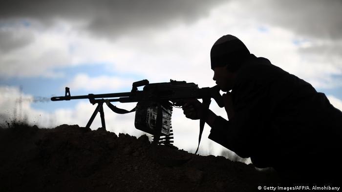 Syrien Symbolbild Konflikt (Getty Images/AFP/A. Almohibany)