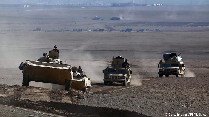 Irak Schiitische Kämpfer rücken nach Badusch vor (Getty Images/AFP/M. Sawaf)