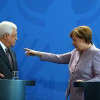 Merkel tells Abbas, two-state solution only alternative