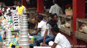 Mosambik junge Menschen Handel