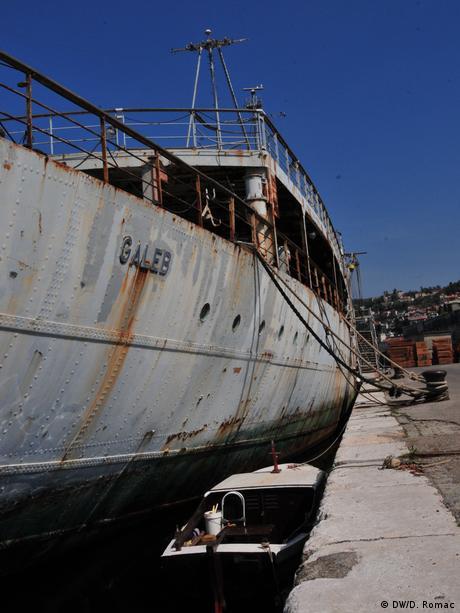 Kroatien Fotoreportage Tito's Schiff Galeb wird Museum (DW/D. Romac)