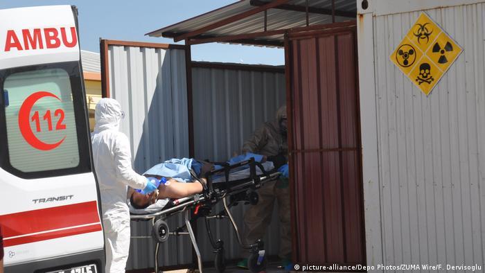 Syrien Idlib Giftgasangriff (picture-alliance/Depo Photos/ZUMA Wire/F. Dervisoglu)