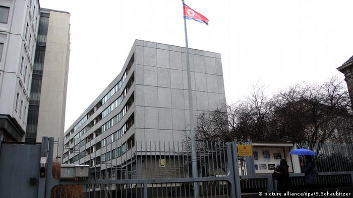 North Korea's embassy in Berlin (picture alliance/dpa/S.Schaubitzer)