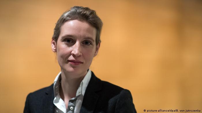Deutschland Alice Weidel AfD (picture-alliance/dpa/B. von Jutrczenka)