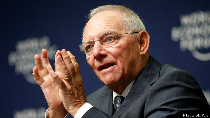 Südafrika Weltwirtschaftsforum in Durban Wofgang Schäuble (Reuters/R. Ward)