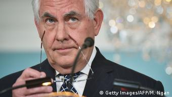 USA Rex Tillerson (Getty Images/AFP/M. Ngan)
