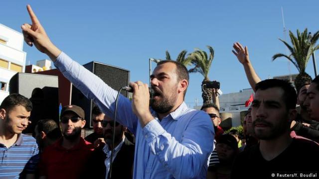 Marokko Nasser Zefzafi, Anführer Protestbewegung (Reuters / Y. Boudlal)
