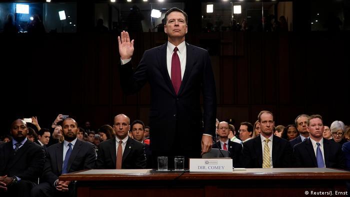 USA Anhörung James Comey, früherer FBI-Direktor (Reuters/J. Ernst)