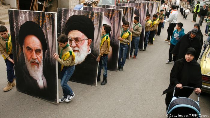 Hezbollah adherents in Lebanon (Getty Images/AFPM. Zayyat)