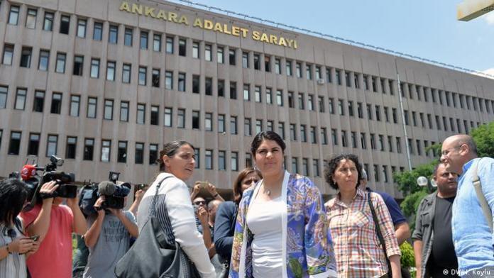 Türkei Figen Yuksekdag-Prozess in Ankara (DW/H. Koylu)