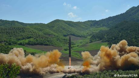Nordkorea Raketentest Hwasong-14 (Reuters/KCNA)