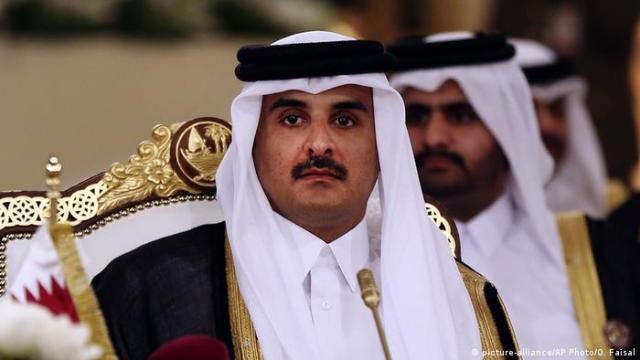 Katar Doha Scheich Tamim bin Hamad Al Thani (picture-alliance / AP Photo / O. Faisal)
