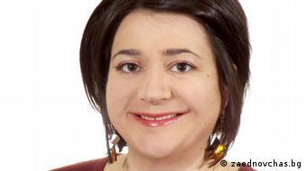 Neli Koleva bulgarische Bildungsexpertin (zaednovchas.bg)