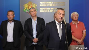 Bulgarien Valeri Simeonov stellvertretender Premierminister