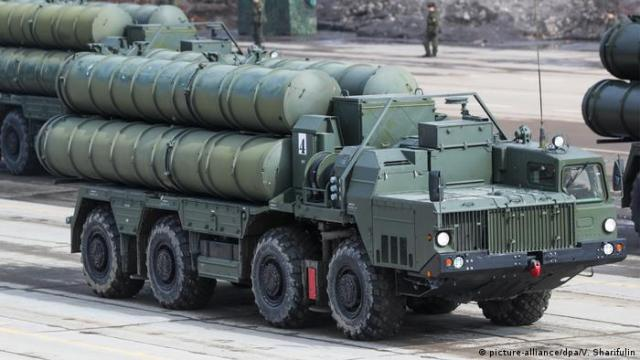 Russisches Raketenabwhrsystem S-400 (picture-alliance / dpa / V. Sharifulin)