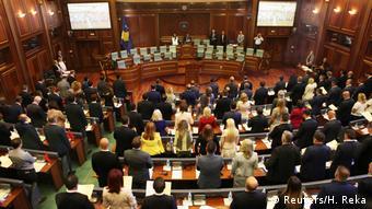 Kosovo Parlament in Pristina (Reuters/H. Reka)