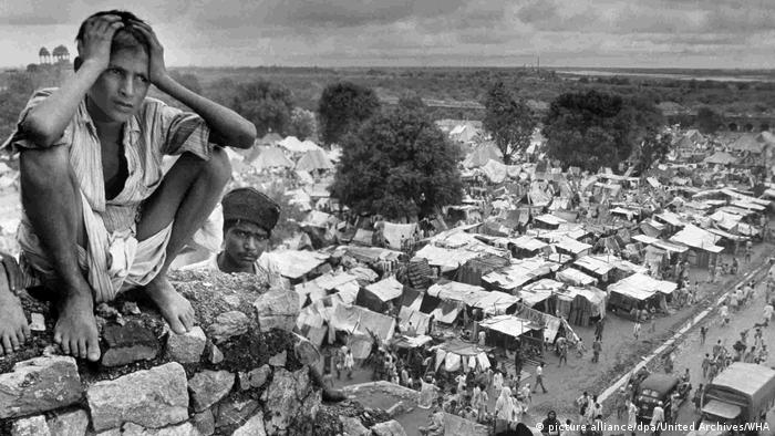 Refugee camp in Delhi during partition of India (picture alliance/dpa/United Archives/WHA)