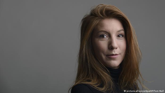 Schweden Journalistin Kim Wal (picture-alliance/dpa/AP/Tom Wall)