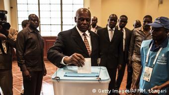 Angola Wahl José Eduardo dos Santos