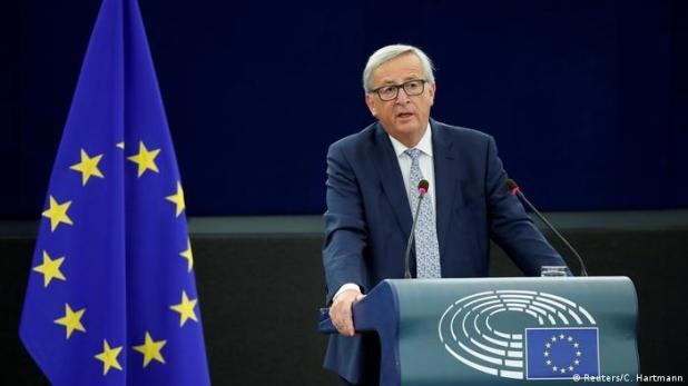 Europaparlament Rede Juncker (Reuters/C. Hartmann)