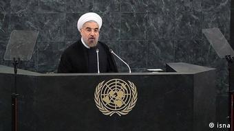 USA Hassan Rohani at UN (isna)