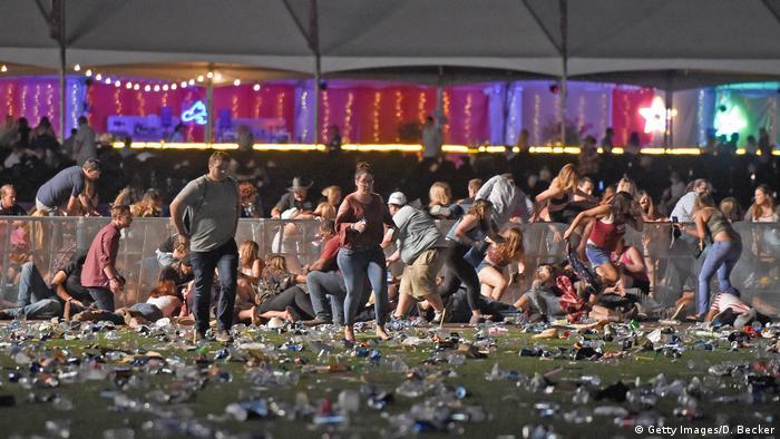 USA Schießerei in Las Vegas (Getty Images/D. Becker)