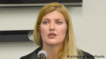 Beatrice Fihn (picture-alliance/Kyodo)