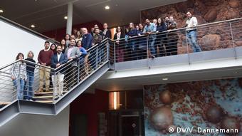 Científicos y estudiantes participaron en el encuentro organizado por el Centro MARUM de la Universidad de Bremen y la embajada chilena.