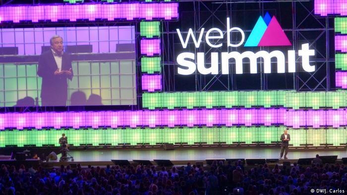 Portugal Web Summit Antonio Guterres, Lisbon
