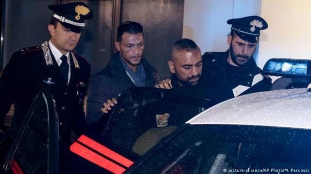 Затримання одного із членів організованого злочинного угруповання в Італії