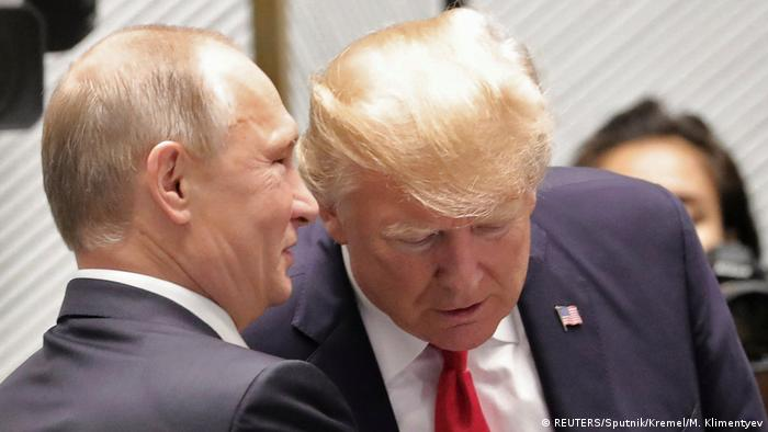 Trump and Putin talking to each other