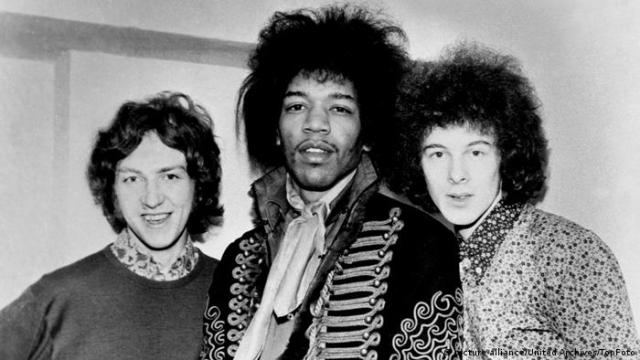 Jimi Hendrix Experience (picture-alliance/United Archives/TopFoto)