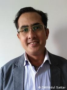 Fishel Benkhald, ein pakistanischer Jude lebt in Karachi (DW/Abdul Sattar)