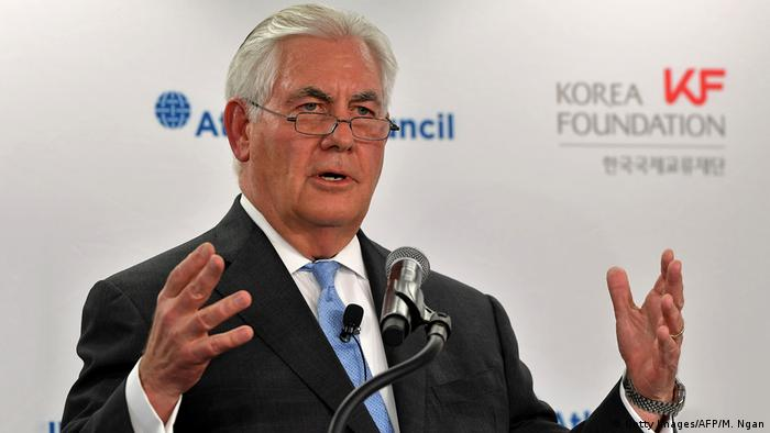 Washington Atlantic Council Rex Tillerson (Getty Images/AFP/M. Ngan)