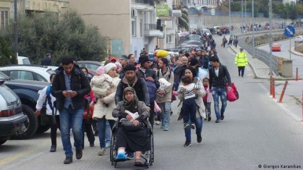 The massive arrival of migrants last year at the port of Kavala shattered the quiet city of northern Greece. Many people rushed to the port to see the newcomers. Some responded intensely, others violently. The majority of people nonetheless welcomed or simply accepted all those who fled from they homelands. The photo was taken by the journalist Giorgos Karanikas.