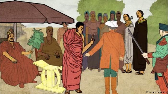 DW African Roots- Yaa Asantewaa (Comic Republic)