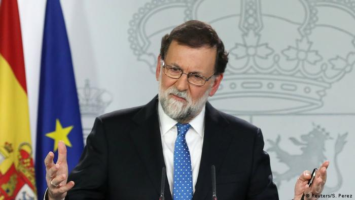 Spanish Prime Minister Mariano Rajoy (Reuters/S. Perez)