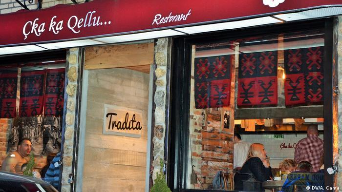 USA New York Albanisches Spezialitäten Restaurant (DW/A. Cama)